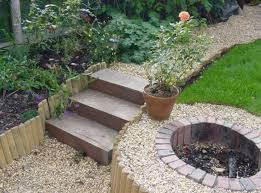 pleasurable design ideas garden steps perfect decoration raised