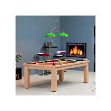 pool tables dining with nice natural wooden material design feat