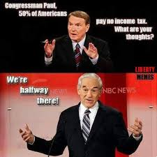 Ron Paul Meme - ron paul on the income tax image ac2 news