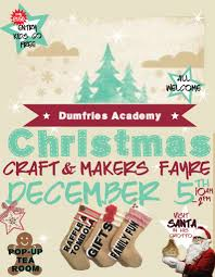christmas craft u0026 makers fayre dumfries academy dgwgo events