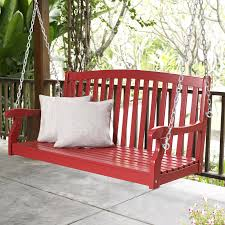 coral coast pleasant bay all weather curved back acacia wood porch