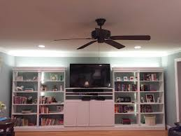 Diy Ceiling Lamps Furniture 20 Top Designs Diy Built In Cabinets For Family Room