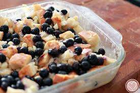 holiday traditions red white and blueberry bread pudding de su