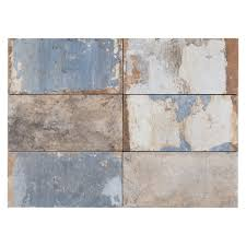 san juan azul porcelain tile 4in x 8in floor and decor