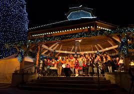 leavenworth wa light festival christmas lighting festival in leavenworth wa editorial stock