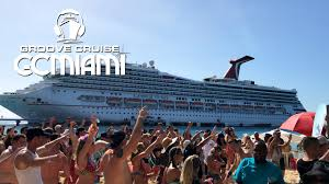 carnival ship themes groove cruise miami 2017 4k aftermovie rave cruise ship youtube