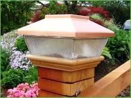 Solar Deck Lights Lowes - lighting best 4x4 solar post lights 4x4 solar post lights lowes
