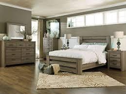 Ashley Modern Bedroom Sets Ashley Furniture B248 Zelen Modern Queen Or King Panel Bed Frame