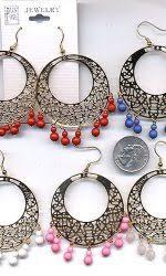 sixties earrings 60 s mod jewelry hippie jewelry 60s earrings more