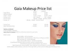 make up prices for wedding makeup artist list of services mugeek vidalondon