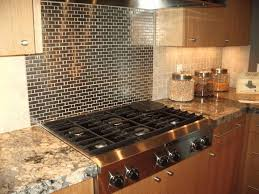 kitchen stove backsplash stainless steel tile backsplash ideas plain matte white wooden