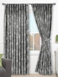 Grey And Silver Curtains Glamis Silver Grey Curtains From Curtains 2go Vardagsrum