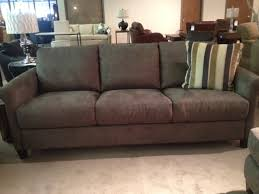 Convert A Couch Sleeper Sofa by Top Microfiber Sleeper Sofa Portfolio Caroline Grey Microfiber