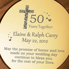 50th anniversary plate personalized and personalized 50th anniversary plate