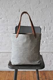 stripes tote could make a great modern diaper bag one day