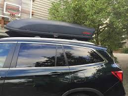 Honda Odyssey 2014 Roof Rack by Cargo Box Honda Pilot Honda Pilot Forums