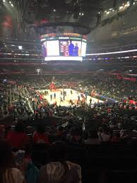 staples center section 219 home of los angeles kings los