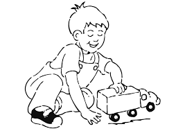 coloring page to play with car img 20931