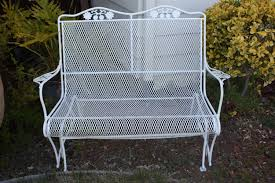 White Wrought Iron Patio Furniture by Rod Iron Patio Furniture Vintage Patio Decoration