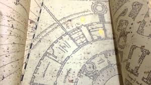 Universal Studios Orlando Interactive Map by Harry Potter Marauders Map From Universal Orlando Youtube