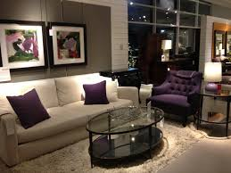 wonderful purple and white modern living room sets with iconic