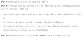 Catchy Subject Lines For Resume Emails Cold Email Examples Broken Down To Help You Write Your Own