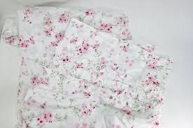 rachel ashwell simply shabby chic shower curtain cherry blossom