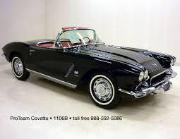 62 corvette convertible for sale corvette for sale 1962 1106b