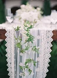 tulle table runner 34 wedding table runners in different styles happywedd