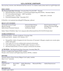 Project Architect Resume Fe Exam Resume Resume For Your Job Application