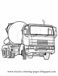 dump truck coloring pages printable contegri com