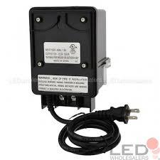 Landscape Light Transformer 12v Ac 150w Landscape Lighting Transformer With Photo Sensor And