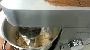 kenwood cuisine mixer kenwood mixer kneading dough