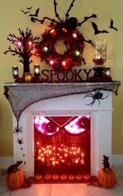 Halloween Centerpieces Decoration Halloween Outdoor Party Decorating Ideas Window