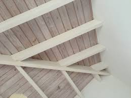cool whitewashed wood ceiling love for the home pinterest