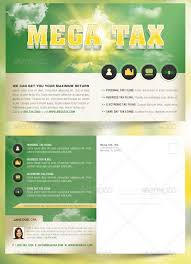 mega tax flyer and postcard photoshop template by godserv on
