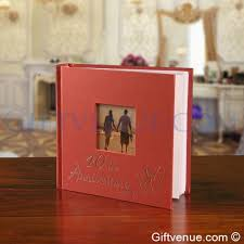 anniversary photo album a 40th ruby wedding anniversary gift photo album gifts for