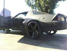 Used 24 Inch Rims Purchase Used 1987 Chevrolet Camaro Z28 Iroc Z Coup 2dr T Top