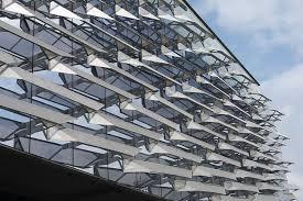 Solar Panel Curtains Morphosis Computes A Facade For Cornell Facades Nyc