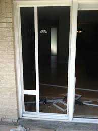 Patio Door With Pet Door Built In Why You Should Install Doggie Door For Sliding Glass Doors Home