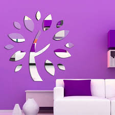 Headboard Wall Sticker by Wishing Tree Mirror Wall Sticker Ceiling Decoration Decal 1mm