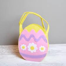 felt easter eggs easter egg hunt bag