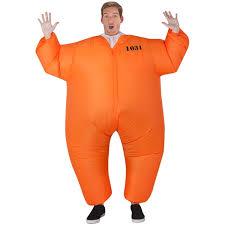 prison jumpsuit costume airblown costume prison jumpsuit