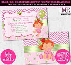 printable birthday invitations strawberry shortcake strawberry shortcake invitation template diabetesmang info