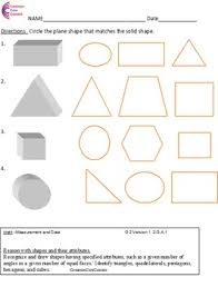 Commoncore Math Worksheets Second Grade Common Math Worksheets Geometry 2 G A 1 2 G A 2