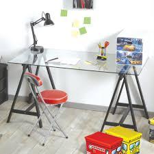 plateau de bureau en verre sérigraphié bureau dessus verre bureau plateau verre bureau moderne