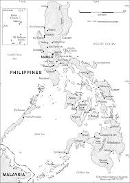 Philippine Map Philippines Map Outline