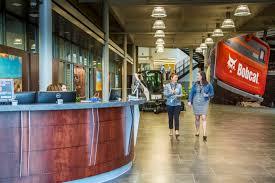 doosan bobcat north america completes west fargo headquarters
