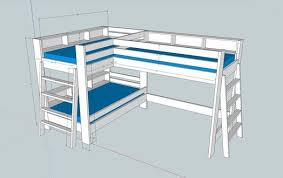 Bunk Bed Plan 52 Awesome Bunk Bed Plans Mymydiy Inspiring Diy Projects