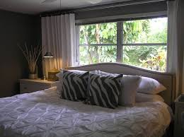 Front Windows Decorating Bed Window Decorating Ideas Best 25 Bed Against Window Ideas